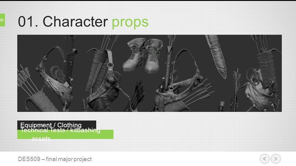 02. Character design Female sniper concept DES509 – final major project