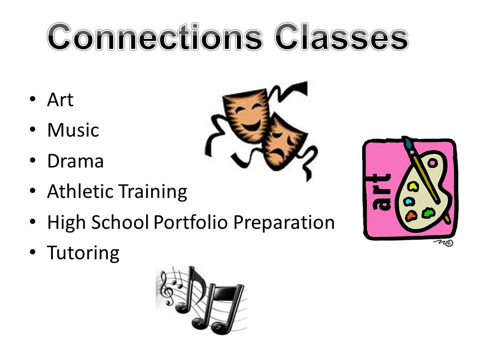 Art Music Drama Athletic Training High School Portfolio Preparation Tutoring
