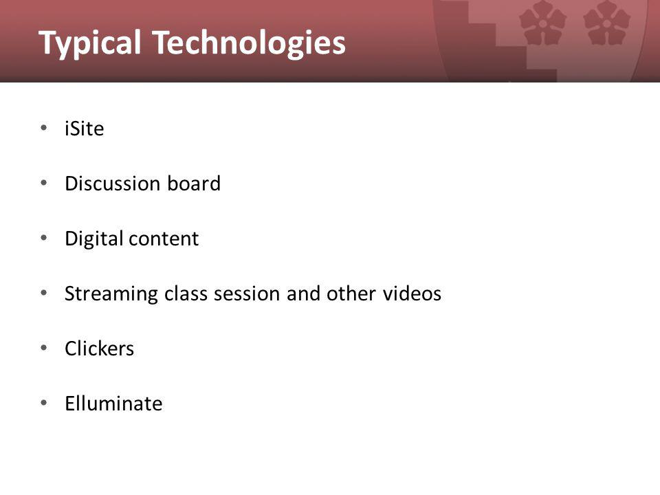 A-310X: Online Session Challenges: 1.Campus is closed but session must take place 2.Recording must be available for viewing before next class session Solution: Teach session live online via Elluminate, edit recording, post link on iSite Team: 1.Faculty 2.TFs 3.Instructional technologist Technologies: Elluminate, Excel, Snapz Pro X recording