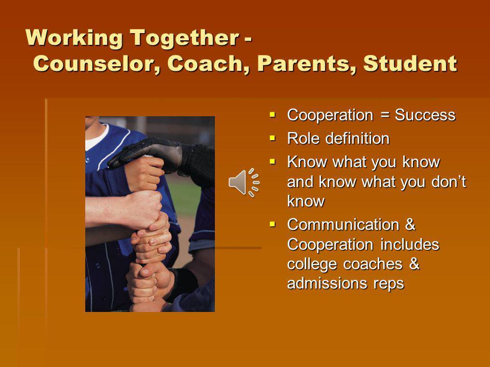 Not Recruited? Many student-athletes are not recruited prior to junior or senior year. Many student-athletes are not recruited prior to junior or seni