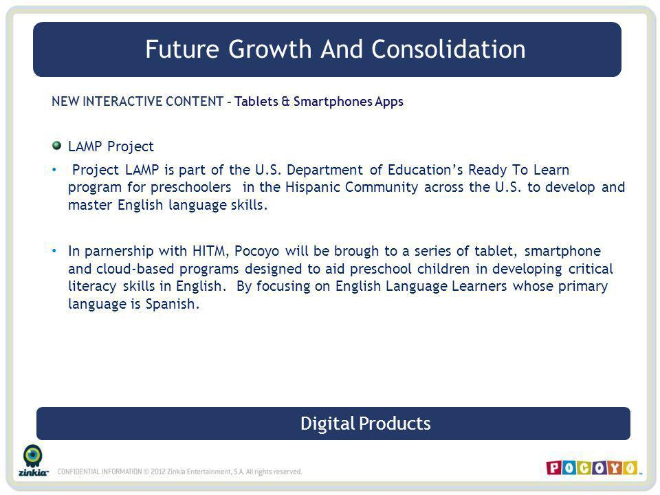 NEW INTERACTIVE CONTENT - Tablets & Smartphones Apps LAMP Project Project LAMP is part of the U.S. Department of Educations Ready To Learn program for