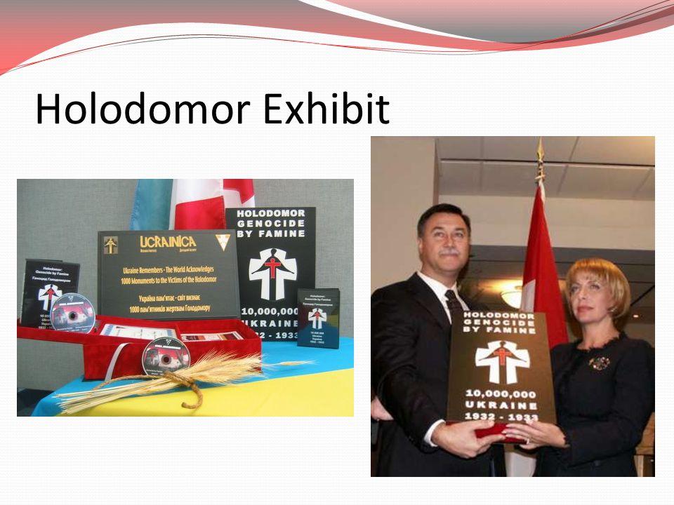 Holodomor Exhibit
