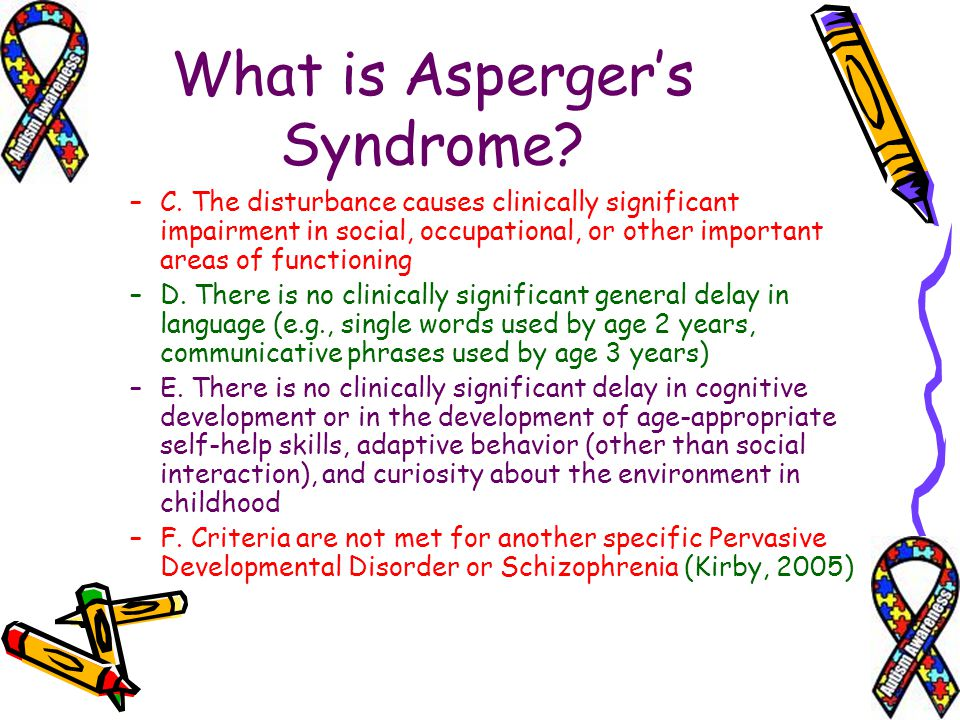 What is Aspergers Syndrome.