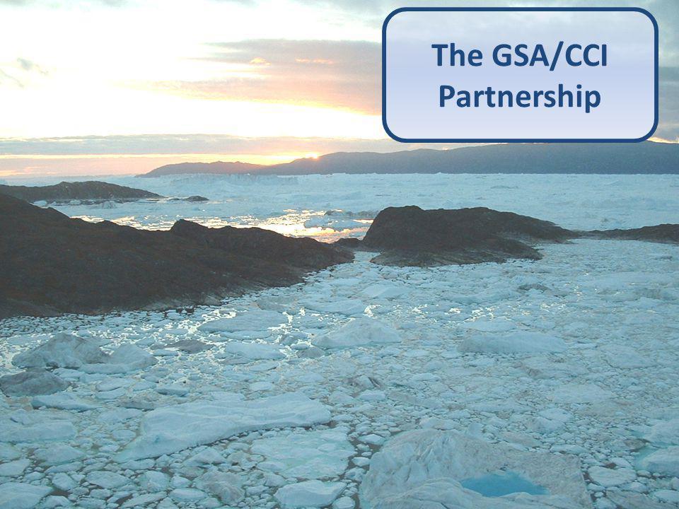 3 The GSA/CCI Partnership