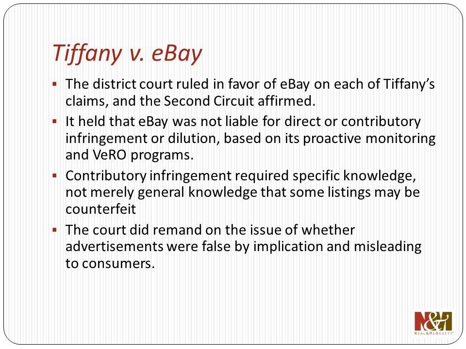 Tiffany v.