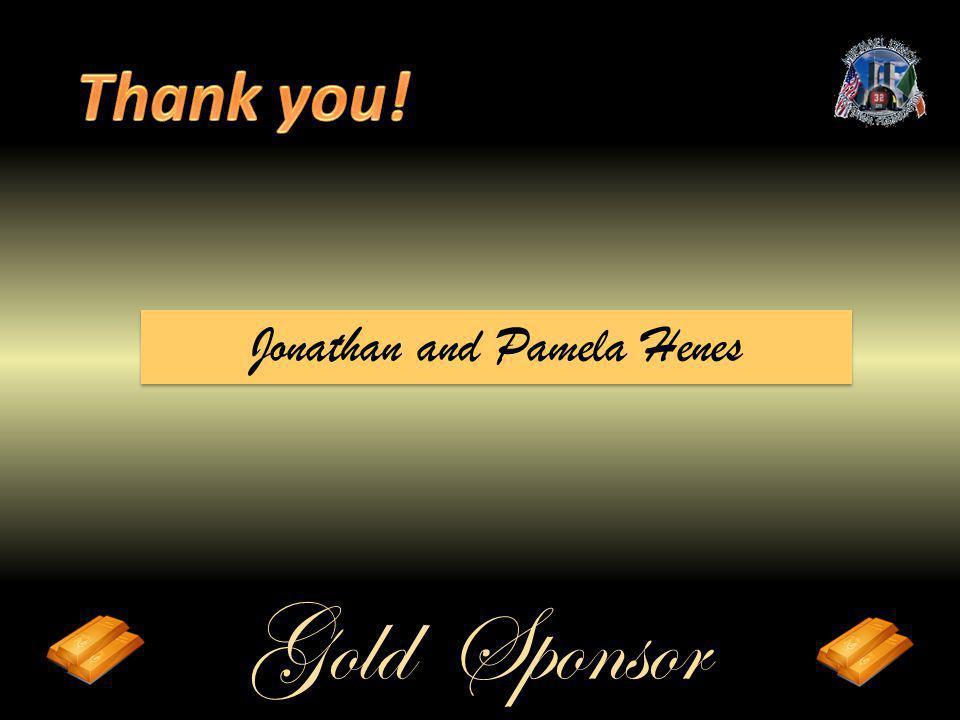 Gold Sponsor Jonathan and Pamela Henes