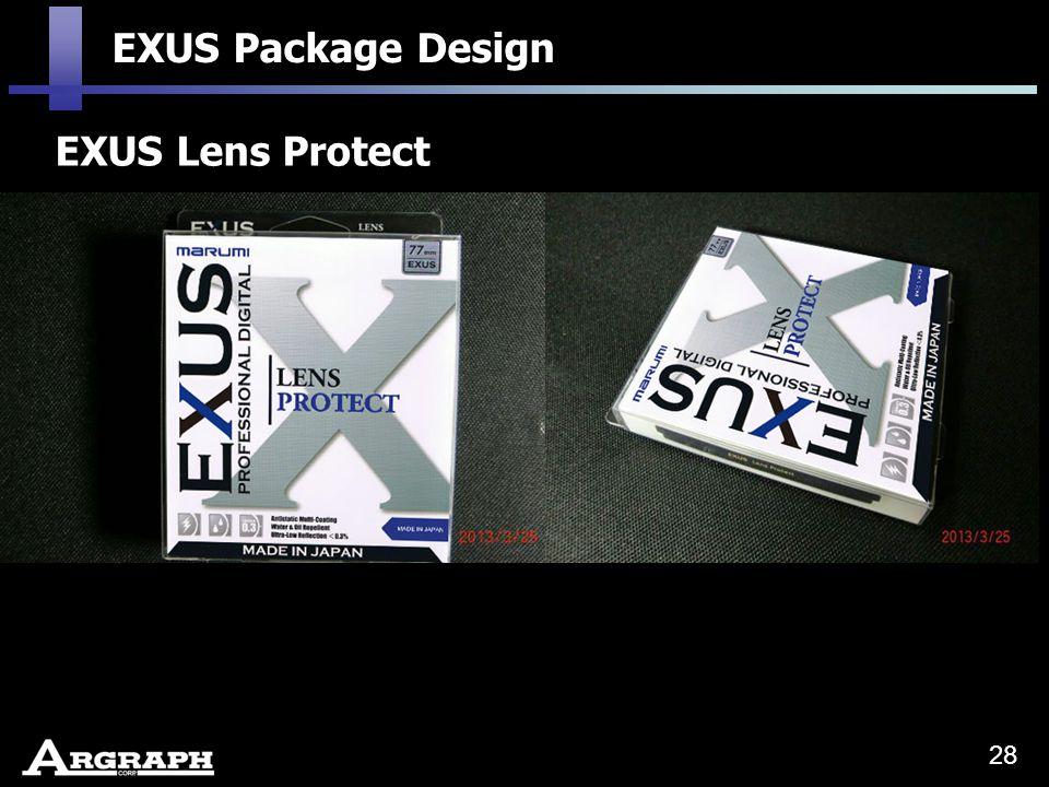 EXUS Lens Protect EXUS Package Design 28