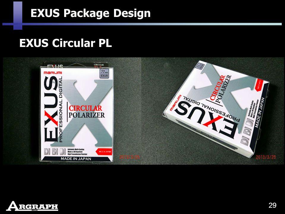 EXUS Circular PL EXUS Package Design 29