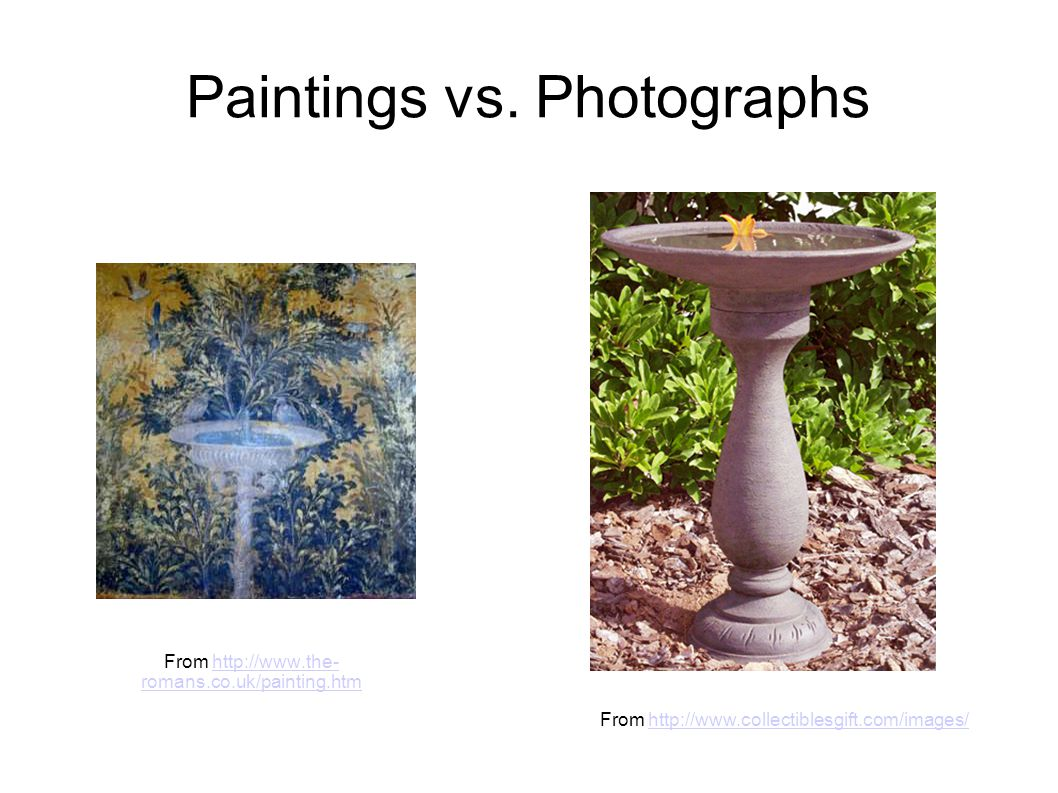 Paintings vs.