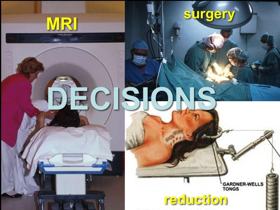 MRI surgery reduction DECISIONS