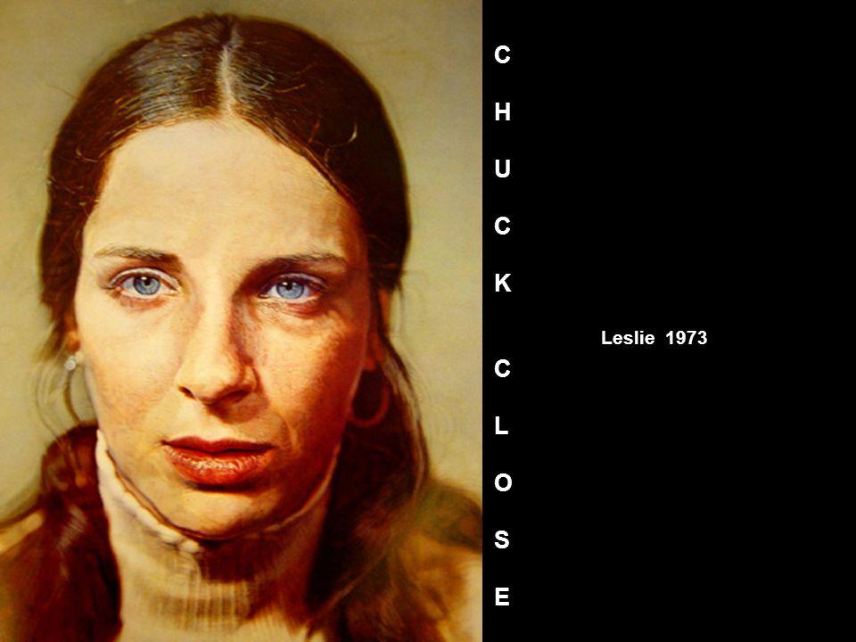 Leslie 1973 CHUCKCLOSECHUCKCLOSE
