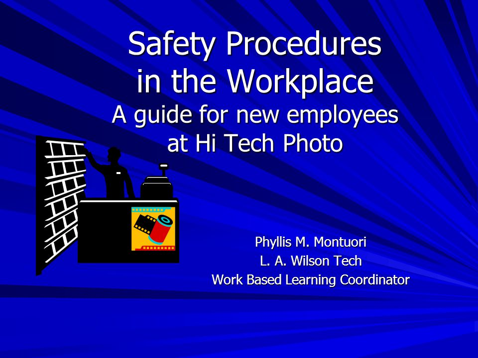 How to report an injury Accidents happen.