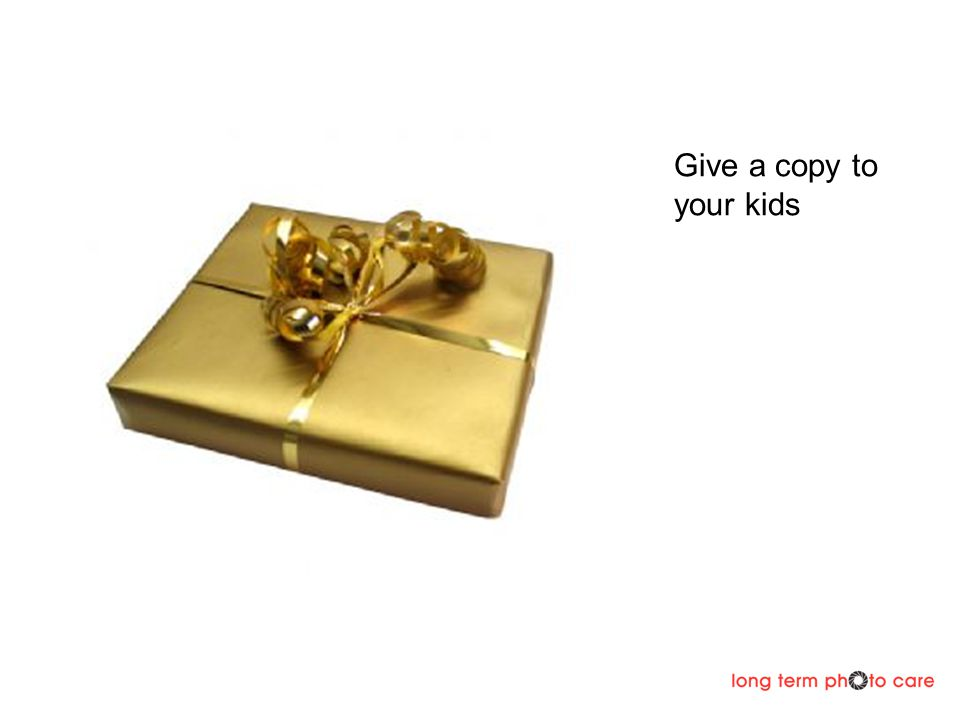 Give a copy to your kids
