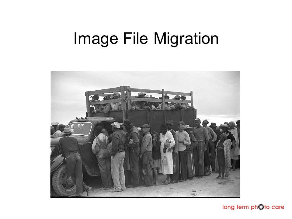 Image File Migration