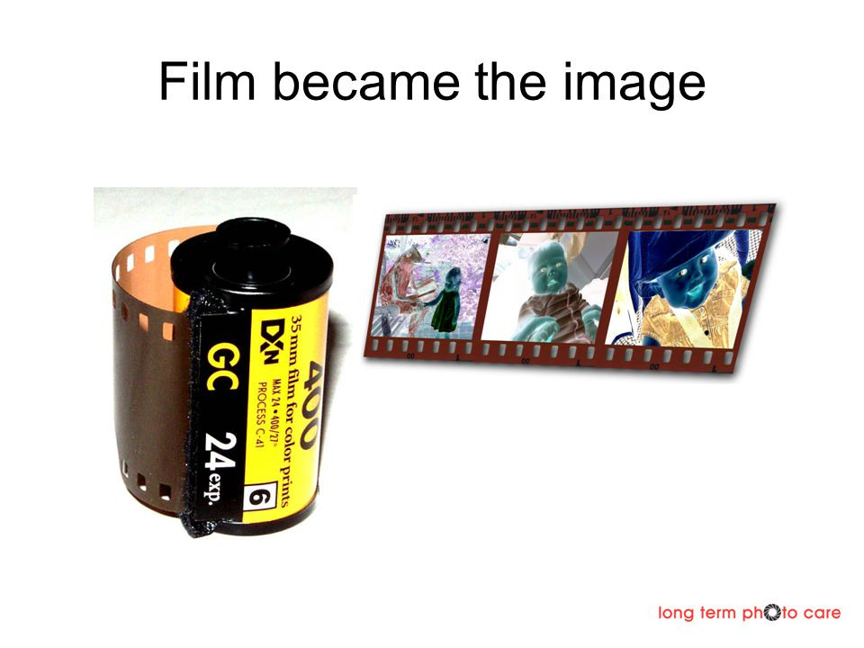 Film became the image