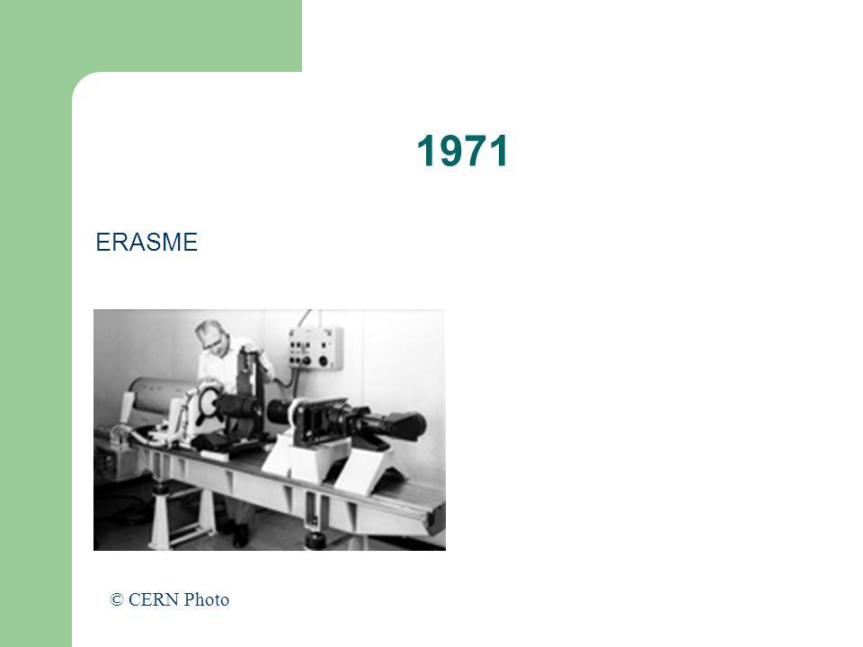 1971 ERASME © CERN Photo
