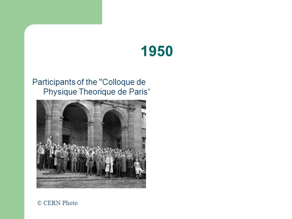 1950 Participants of the