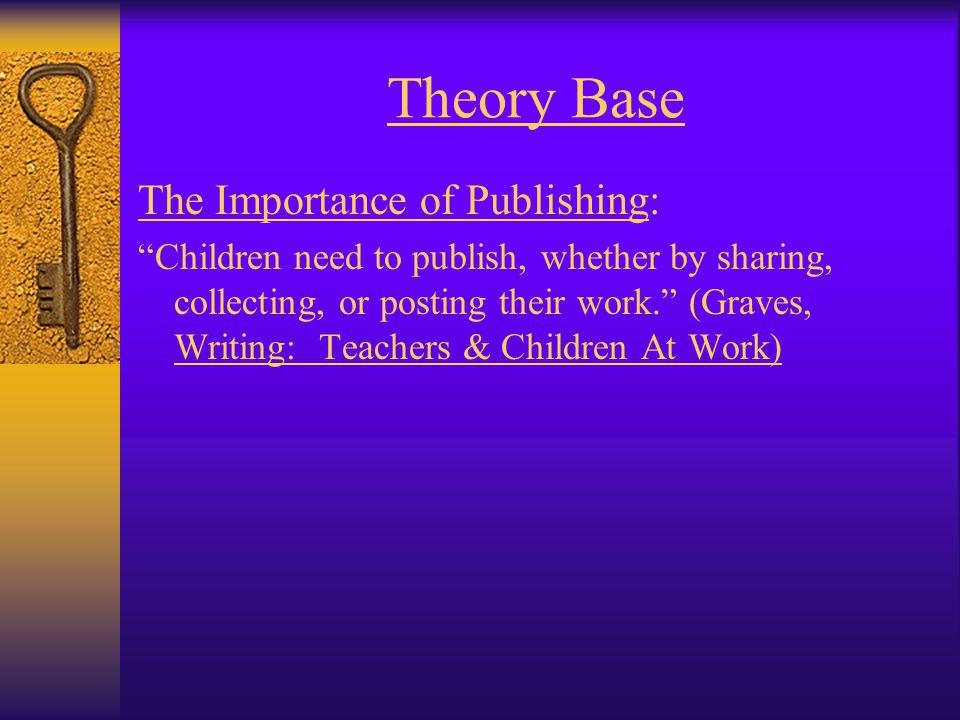 Theory Base Cross-Curricular Connection: Evidence shows that writing performance improves when a student writes often and across content areas. (Nagin