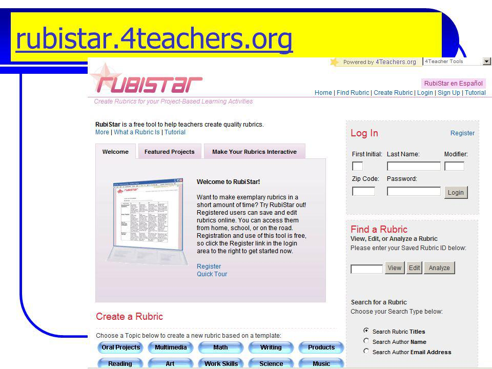 rubistar.4teachers.org