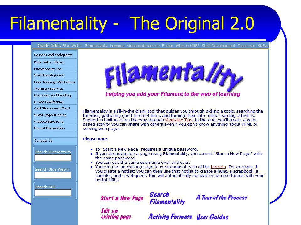 Filamentality - The Original 2.0