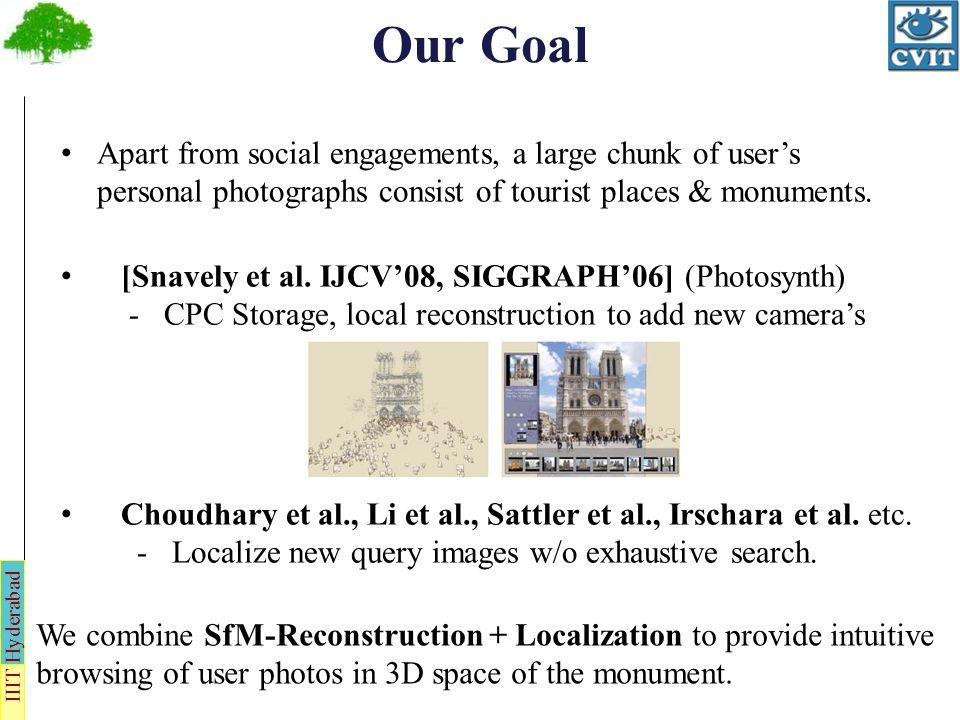 IIIT Hyderabad Assumptions Our target platform is an off-the-shelf laptop or a desktop.