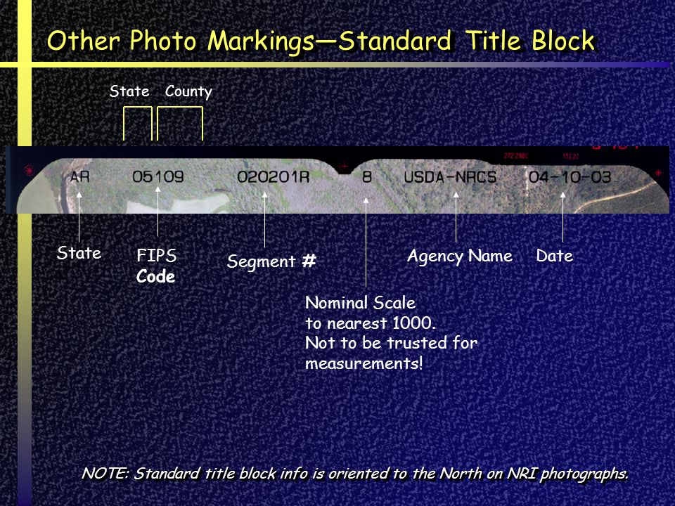 State FIPS Code CountyState Segment # Nominal Scale to nearest 1000. Not to be trusted for measurements! Agency NameDate NOTE: Standard title block in