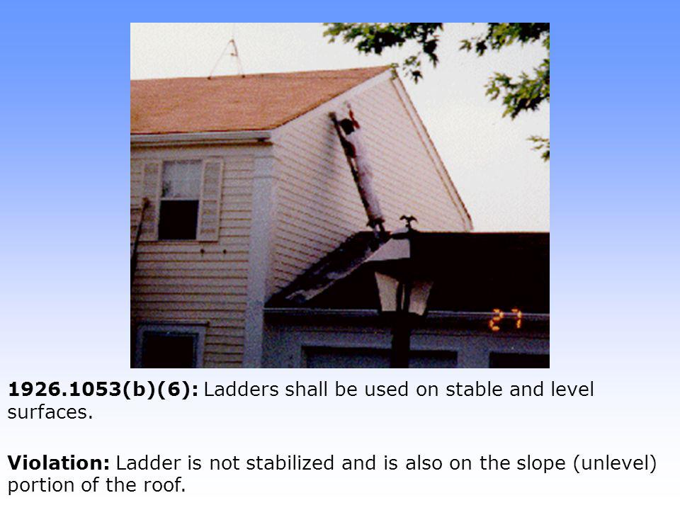 1926.451(c)(2)(ii): Unstable objects shall not be used to support scaffold members.