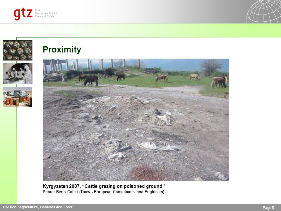 Division Agriculture, Fisheries and Food Page 16 Rehabilitated Dump Azerbaijan 2008, Rehabilitated polygon filled with pesticides Photo: Khatuna Akhalaia (Milieukontakt International)