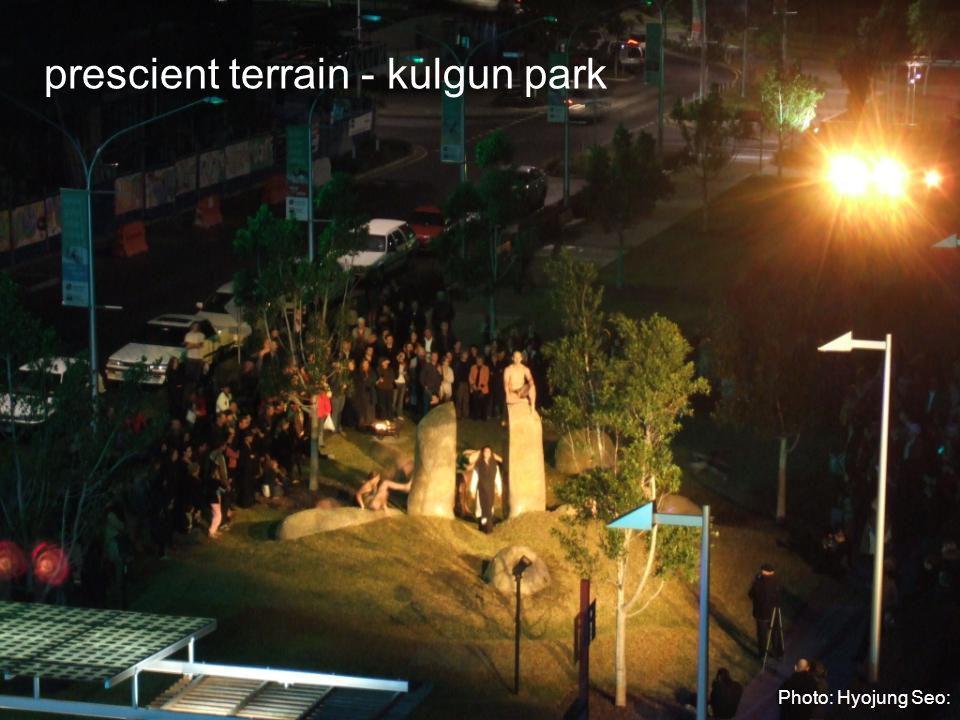 prescient terrain - kulgun park Photo: Hyojung Seo: