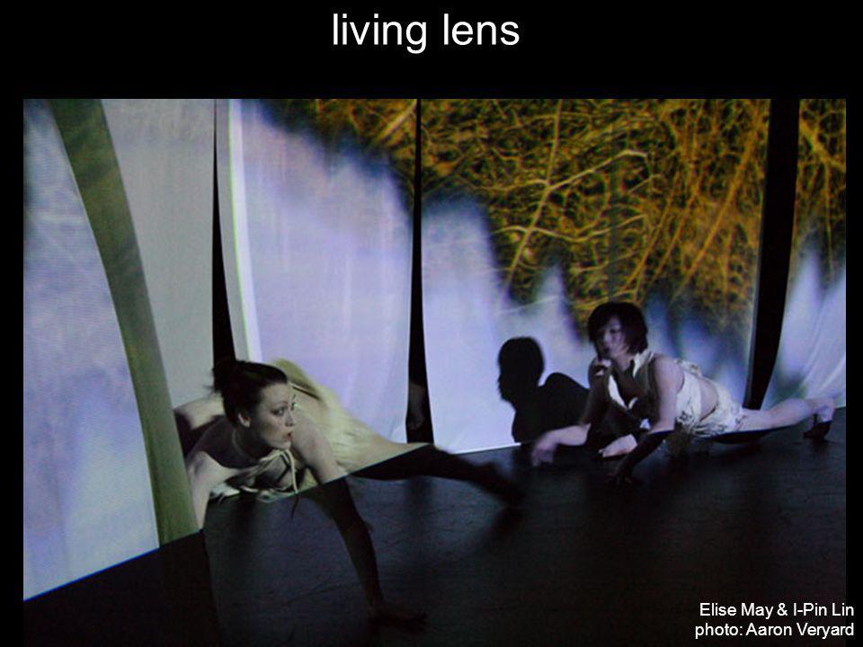 living lens Elise May & I-Pin Lin photo: Aaron Veryard