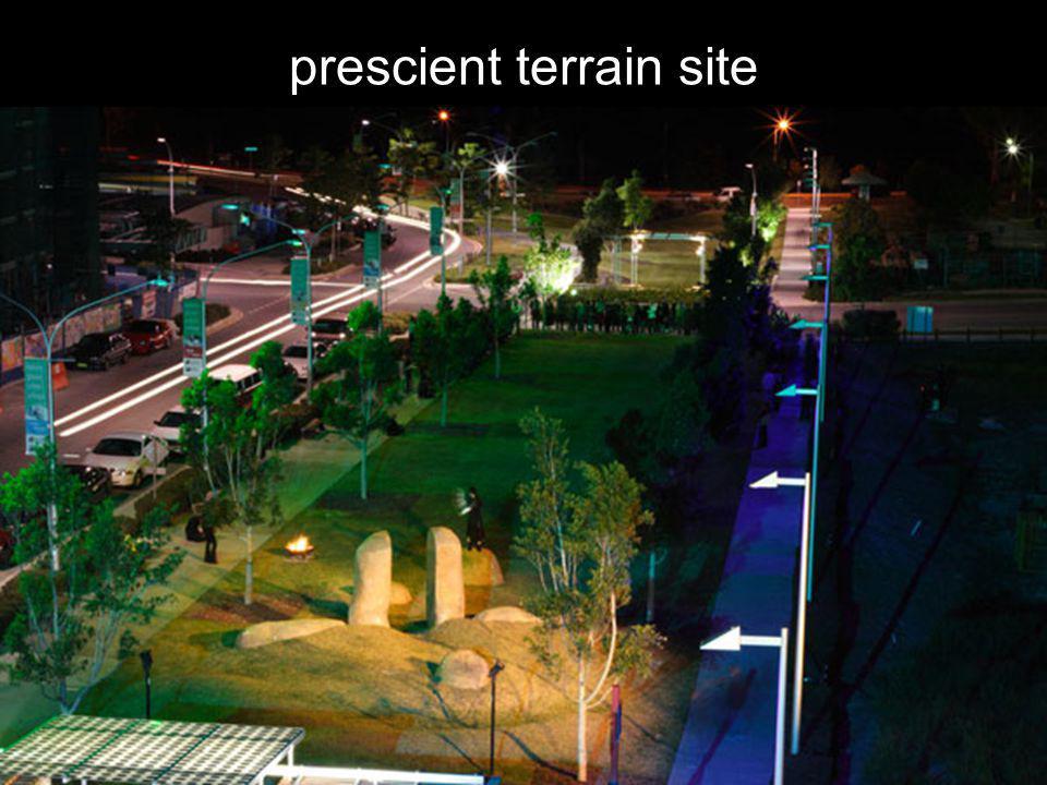 prescient terrain site