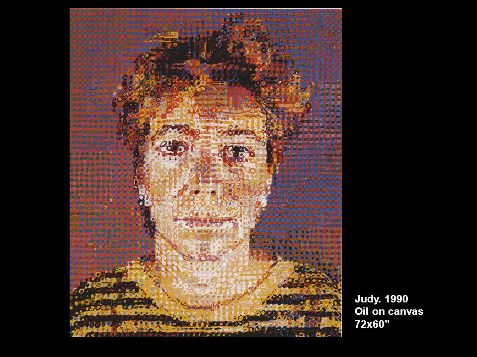 Judy. 1990 Oil on canvas 72x60