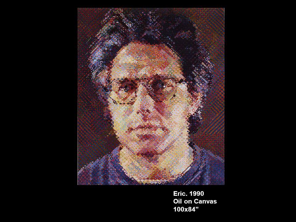 Eric. 1990 Oil on Canvas 100x84