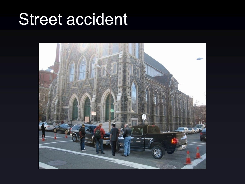 Street accident