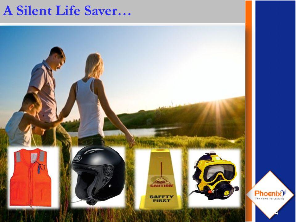 4 A Silent Life Saver…