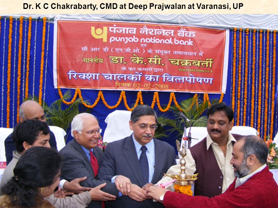 Dr. K C Chakrabarty, CMD at Deep Prajwalan at Varanasi, UP