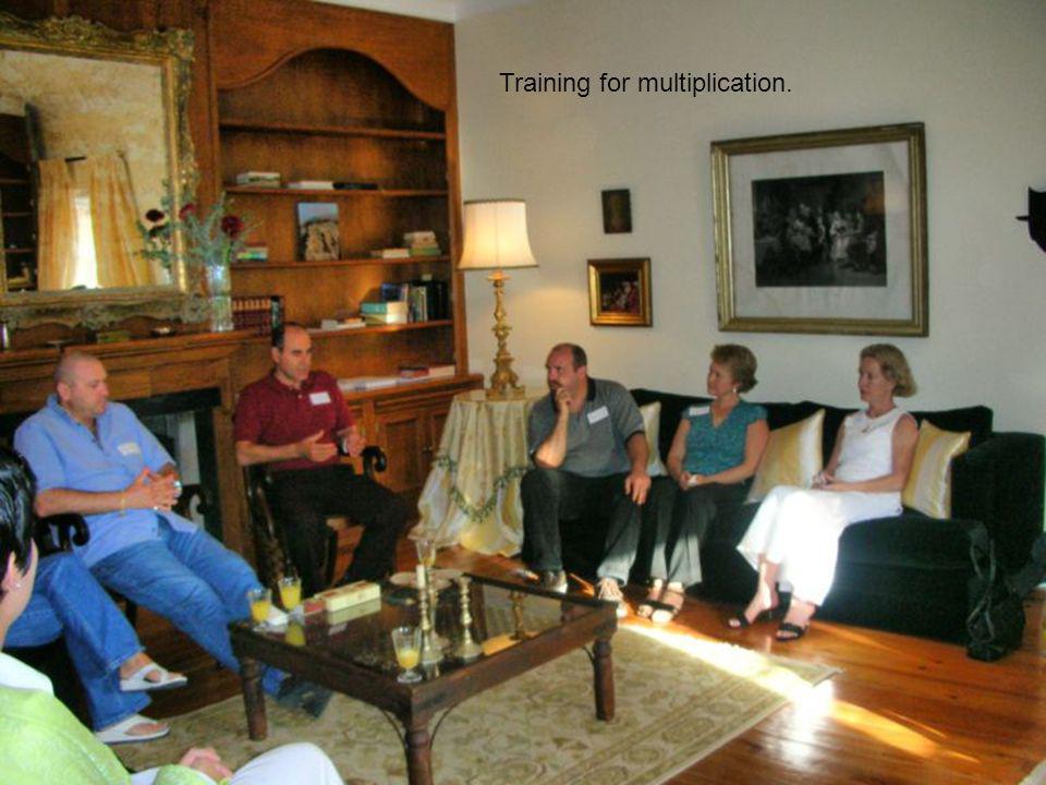Training for multiplication.