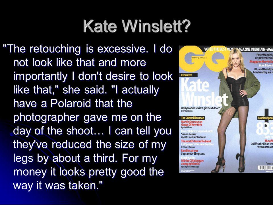 Kate Winslett?