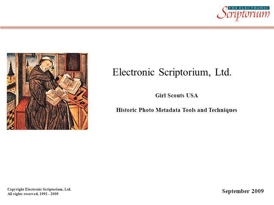 Electronic Scriptorium, Ltd.