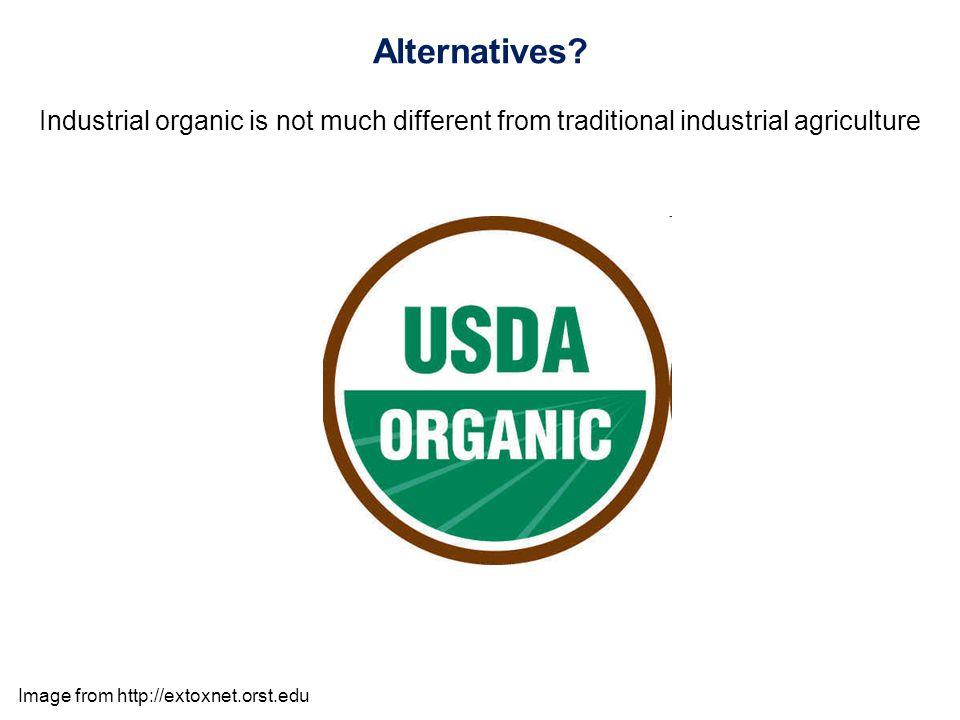 Alternatives.