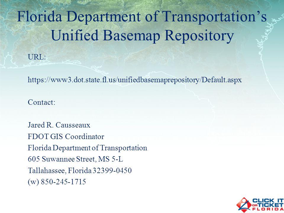 URL: http://www.dot.state.fl.us/surveyingandmapping/apac.shtm Contact: Jared R.