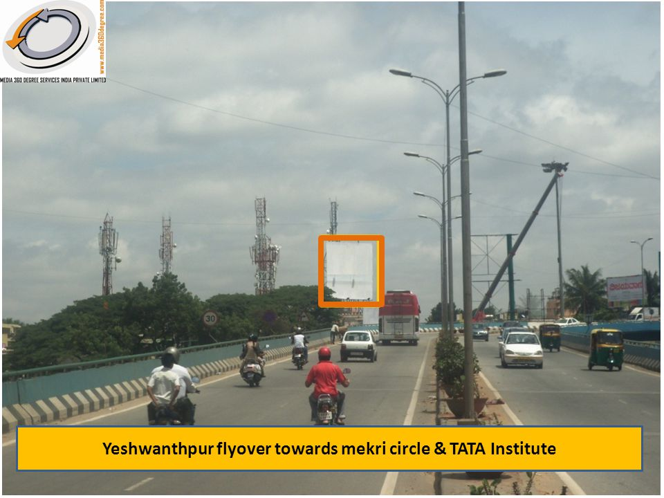 Yeshwanthpur flyover towards mekri circle & TATA Institute