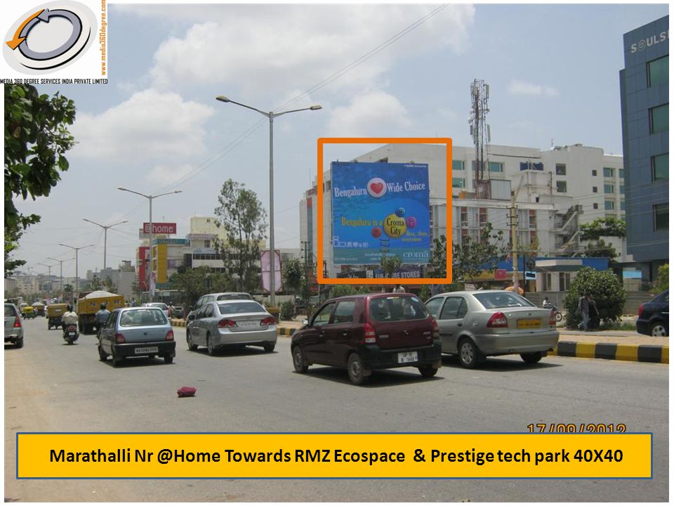 Marathalli Nr @Home Towards RMZ Ecospace & Prestige tech park 40X40