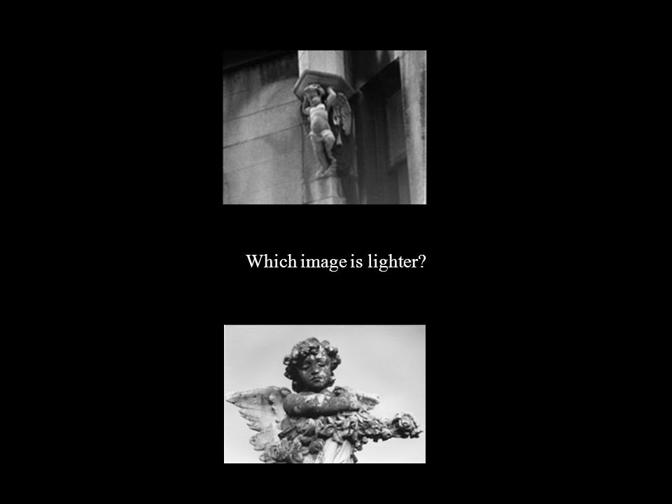 Which image is lighter