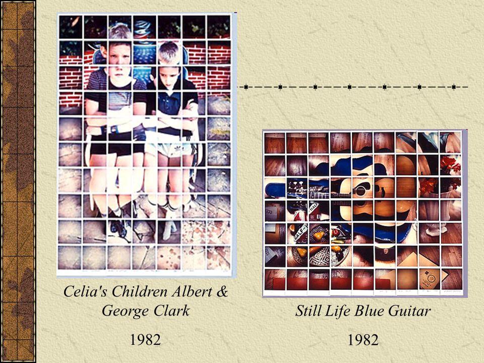 Still Life Blue Guitar 1982 Celia s Children Albert & George Clark 1982