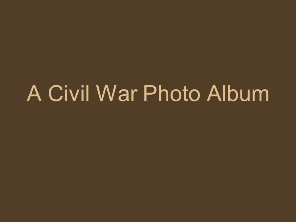 A Civil War Photo Album