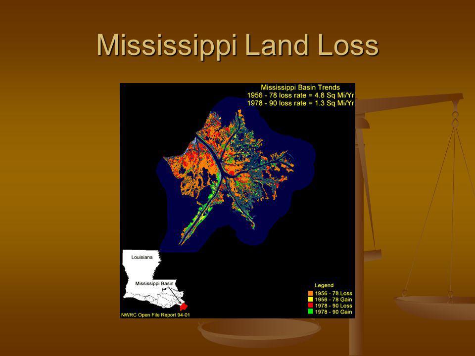 Mississippi Land Loss