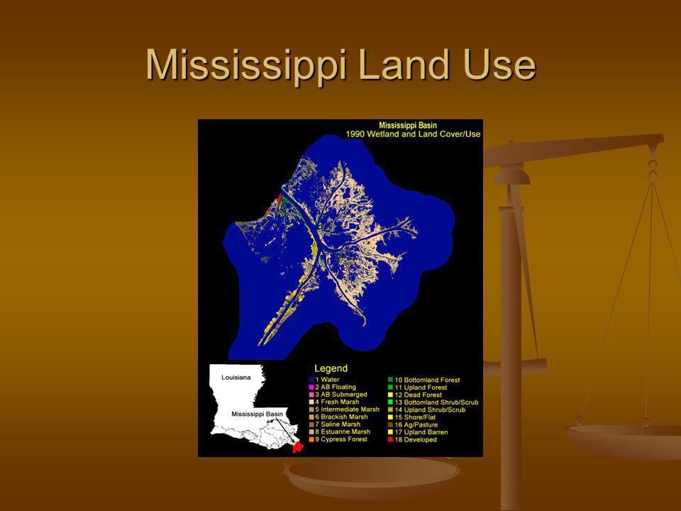Mississippi Land Use