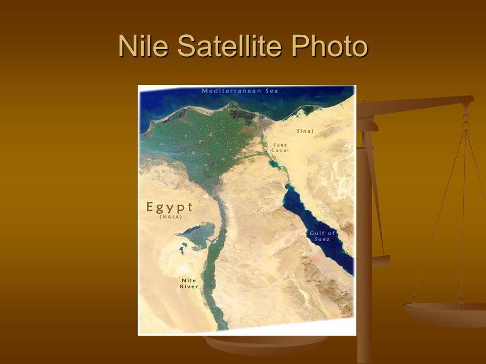 Nile Satellite Photo