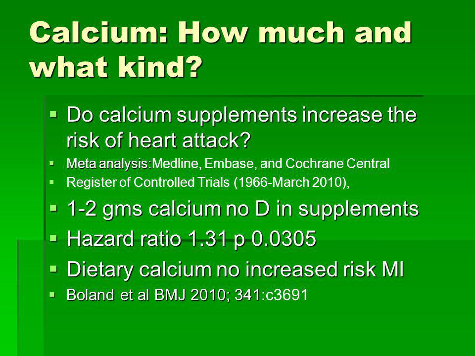 Calcium intake and vascular calcification No correlation of coronary artery calcification or abdominal aortic calculations with dietary calcium or calcium intake in healthy men and women.